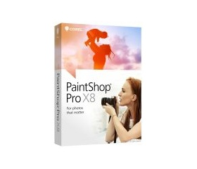 Corel PaintShop Pro X8 dt. Minibox
