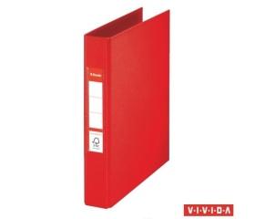 "Esselte ""Standard"" Gyűrűs dosszié, 42 mm, A5 piros"