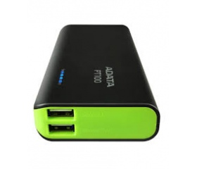 Adata 100 Power Bank 10000mAh, Zöld