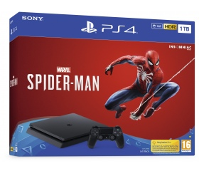 Sony PS4 SLIM 1TB + Marvel`s Spider-Man