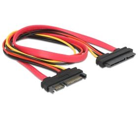 Delock SATA 3Gbps 22 tűs hosszabbító 50cm