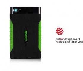 Silicon Power Armor A15 1TB USB 3.0 Fekete/Zöld