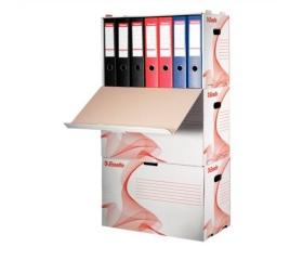 Esselte Archiváló konténer, karton, előre nyíló