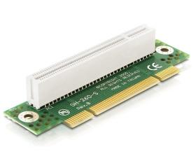 Delock emelő kártya PCI 32 Bit 90° elfordított, ba