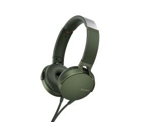 Sony MDR-XB550AP Zöld
