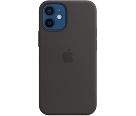 Apple iPhone 12 mini MagSafe szilikontok fekete