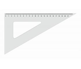 Koh-I-Noor Háromszög vonalzó, műanyag, 60 °