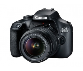 CANON EOS 4000D + EF-S 18-55mm f/3.5-5.6 DC III ki