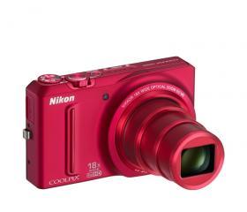 Nikon COOLPIX  S9100 Vörös