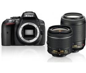 Nikon D5300 + AF-P 18-55 VR + 55-200 VR II Kit