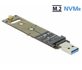 Delock M.2 NVMe PCIe SSD átalakító USB 3.1 Gen 2-v