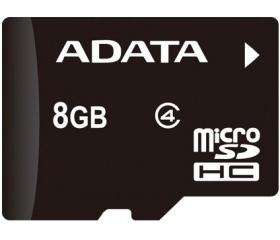 Adata microSDHC CL4 8GB