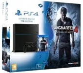 PS4 PlayStation 4 1TB konzol + Uncharted 4: A Thie