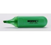 Kores Szövegkiemelő, 1-5 mm, zöld