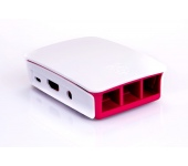 Raspberry Pi 3 Case piros/fehér ház