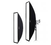 Fomex Softbox 30x120cm Fehér belső