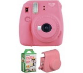 Fujifilm Instax Mini 9 Csomag Flamingó Rózsaszín