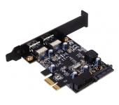 SilverStone EC04-E PCIe USB 3.0 adapter