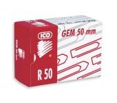 ICO gemkapocs, 50 mm, réz, 100 db