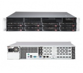 Supermicro SYS-6027R-TDT+ Black
