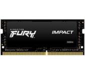 KINGSTON Fury Impact SO-DIMM DDR4 2666MHz CL15 8GB
