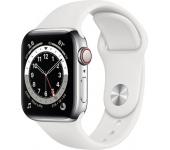 Apple Watch Series 6 LTE 40mm rm. acél ezüst