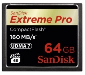 SanDisk Extreme Pro CF UDMA7 160MB/s 64GB
