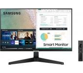 """Samsung 24"""" Smart Monitor LS24AM506NUXEN"""