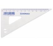 Donau Háromszög vonalzó, műanyag, 60°, 12 cm