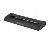 SILVERSTONE SST-NB05B Notebook Cooler Fekete