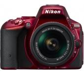 Nikon D5500 + AF-P 18-55 VR kit vörös