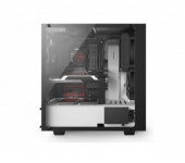 Nzxt SOURCE 340 Elite Tempered Glass Fekete