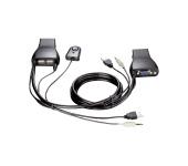 D-LINK DKVM-222 KVM Switch  +kábel