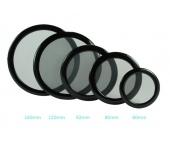 DEMCIFLEX Porszűrő kerek 225mm Fekete/Fekete