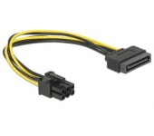 Delock tápátalakító kábel SATA > PCIe