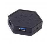 SilverStone 4-Portos USB 3.0 elosztó