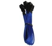 BitFenix 3 tűs elosztó adapter 3x 60cm kék/fekete