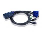 Aten CS62US 2 portos USB KVM switch