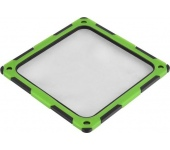 SilverStone FF124-E hang/porszűrő fekete-zöld