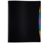 "Viquel ""Rainbow Class"", regiszteres, A4, fekete"