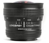 Lensbaby Circular Fisheye 5.8mm f/3.5-22 (Nikon)
