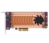 QNAP Dual M.2 2280/22110 PCIe SSD bővítő kártya