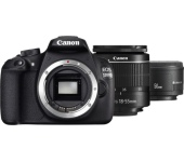 Canon EOS 1200D + EF-S 18-55 DC III + EF 50 STM