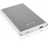 Sharkoon Rapid-Case 2.5'' USB 3.1 Type-C ezüst