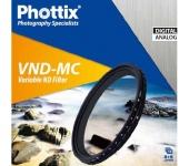 Phottix változtatható VND-MC szűrő 52mm