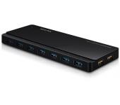 TP-Link USB 3.0 7 portos hub 2 töltőporttal