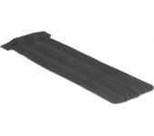 Delock tépőzáras kábelköteg. 10db 200x12mm fekete