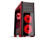Spirit of Gamer Rogue 3 Red (fekete, ablakos)