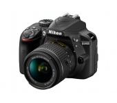 Nikon D3400 + AF-P 18-55 VR Kit Fekete + 8Gb SD
