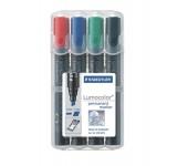 Staedtler  marker készlet, 2-5 mm, vágott, 4 szín